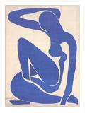 Blå akt I Samletrykk av Henri Matisse