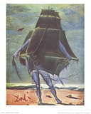 The Boat Art by Salvador Dali