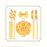 8 Pastas Samlertryk af Unknown,