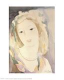 Young Woman Samletrykk av Marie Laurencin