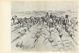 Paysans au Travail Collectable Print by Vincent van Gogh
