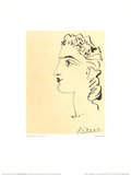Woman's Profile Prints by Pablo Picasso