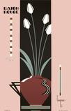 Baton Rouge, Jazz Cafe Dijon Serigraph by Charles Lepas
