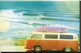 California Cool - Drive Stretched Canvas Print by Chuck Brody