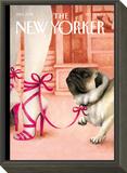 The New Yorker Cover - September 27, 2004 Framed Print Mount by Ana Juan