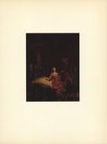 Joseph et la Femme du Putiphar Collectable Print by Van Rijn Rembrandt