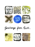 Greetings from Earth Giclee Print