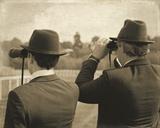 Vintage Equestrian - Spectators Giclee Print