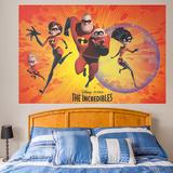 Incredibles Mural Wall Mural