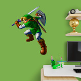 Nintendo Legend of Zelda Link Fathead Jr. Wall Decal