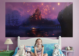Tangled Painted Lanterns Mural Wall Mural