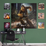 Star Wars Chewbacca Moment's Edge RealBig Mural Wall Mural