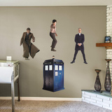 BBC Doctor Who Tenth Eleventh Twelfth Doctors RealBig Collection Wall Decal