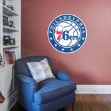 NBA Philadelphia 76ers 2015-2016 RealBig Logo Wall Decal