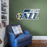 NBA Utah Jazz 2016-2017 RealBig Logo Wall Decal