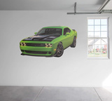 Dodge 2015 Challenger HellCat RealBig Wall Decal