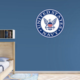 MILITARY US Navy 2015 Alternate Insignia RealBig Logo Wall Decal