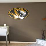 NCAA Missouri Tigers 2015 Oval RealBig Logo Wall Decal