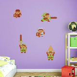 Nintendo Legend of Zelda Classic Link Collection Wall Decal