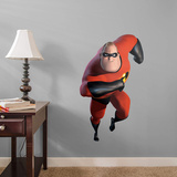 Incredibles Mr. Incredible Fathead Jr. Wall Decal