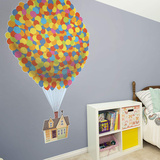 UP Floating House RealBig Wall Decal