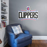 NBA Los Angeles Clippers 2015-2016 RealBig Logo Wall Decal