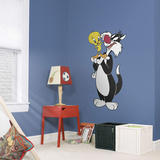 WB Looney Tunes Sylvester & Tweety RealBig Wall Decal