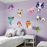 Littlest Pet Shop 2015 RealBig Collection Wall Decal