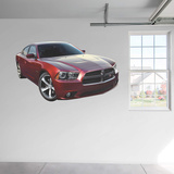 Dodge 2014 Charger 100th Anniversary Edition RealBig Wall Decal