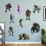 Nintendo Legend of Zelda RealBig Collection Wall Decal