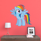 Hasbro My Little Pony Rainbow Dash Fathead Jr. Wall Decal