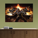 DC Infinite Crisis Batman Mural Wall Mural