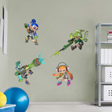 Nintendo Splatoon RealBig Collection Wall Decal