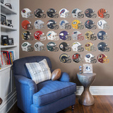 NFL 2015 RealBig Helmet Collection Wall Decal