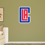 NBA Los Angeles Clippers 2015-2016 Alt LAC RealBig Logo Wall Decal