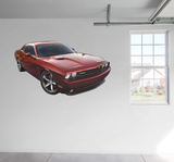 Dodge 2014 Challenger 100th Anniversary Edition RealBig Wall Decal