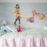 Tangled Rapunzel & Flynn RealBig Wall Decal