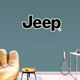 Jeep RealBIg Logo Wall Decal