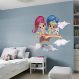 NICK Shimmer and Shine RealBig Wall Decal