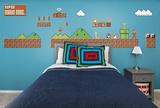 Nintendo Classic Super Mario Bros. Environment RealBig Collection Wall Decal