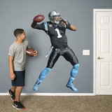 NFL Cam Newton 2015 RealBig Wall Decal