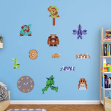 Nintendo Legend of Zelda Classic RealBig Collection Wall Decal