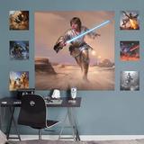 Star Wars Luke Skywalker Moment's Edge RealBig Mural Wall Mural