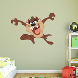 WB Looney Tunes Tazmanian Devil RealBig Wall Decal