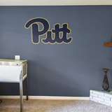 NCAA Pittsburgh Panthers 2015 Script RealBig Logo Wall Decal