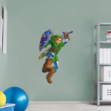 Nintendo Legend of Zelda Link RealBig Wall Decal