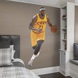 NBA LeBron James 2015-2016 Gold Jersey RealBig Wall Decal