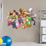 Nintendo Super Mario Group RealBig Wall Decal