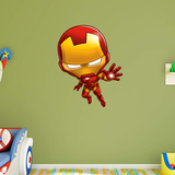 Marvel Iron Man Team Up RealBig Wall Decal