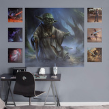 Star Wars Yoda Moment's Edge RealBig Mural Wall Mural